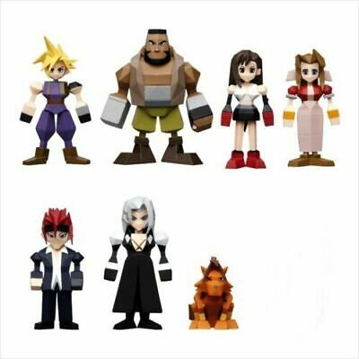 FINAL FANTASY 7 VII REMAKE Kuji SET OF 7 Polygon Mini Figure Square Enix