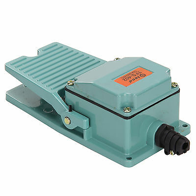 AC 250V 10A Durable Antislip Industrial Foot Operated Pedal Switch Footswitch OL