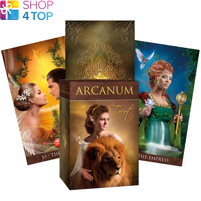 Arcanum Tarot Cards Deck Lechner Esoteric Telling Lo Scarabeo New