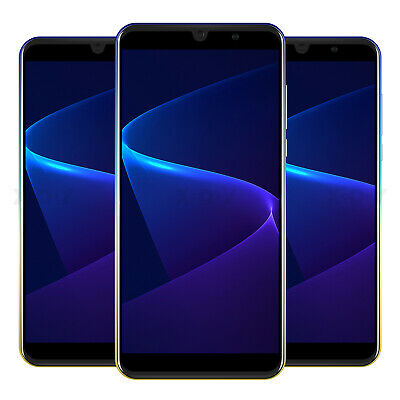 "Cheap Unlocked 6"" Android 9.0 Mobile Smart Phone Quad Core Dual SIM 16GB 5MP GPS"