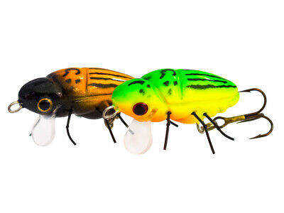 Floating Imitations d/'insecte Microbait May Bug //1,7g 28mm leurre de surface
