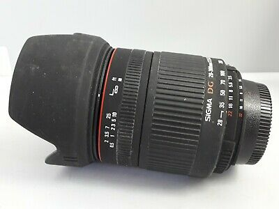 Nikon DSLR Fit 28-300mm Sigma F3.5-6.3 DG Macro Camera Lens AF MF Zoom in Box
