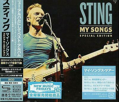 |2502211| Sting - My Songs - Special Edition (2 Cd) [CD] New