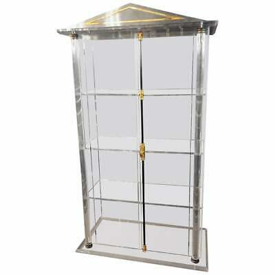 Acrylic Cabinet in Empire Style 2 Doors inside with 3 Shelves