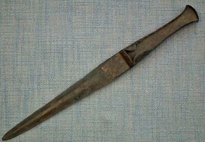 Ancient Western Asiatic Luristan Type Bronze Sword Dagger 1200 -1000 B.C.