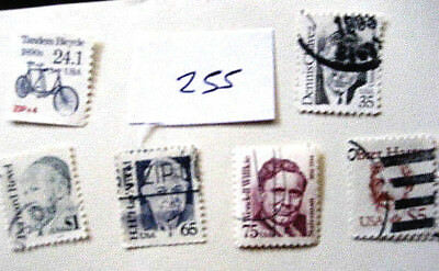 United States Used Stamps  Lot # 255  High Cv