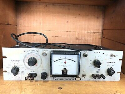 North Atlantic 202BR Phase Angle Voltmeter (TLE2129)