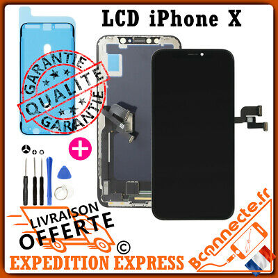 Vitre Tactile Ecran Lcd Qualite Oled Iphone X Complet