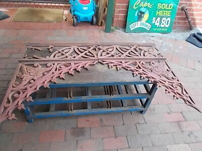 Cast Iron Lace Work X 14 Pieces Not Sure Of Age