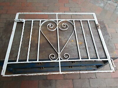 VINTAGE WROUGHT IRON GATE 1950s IN GOOD CONDITION