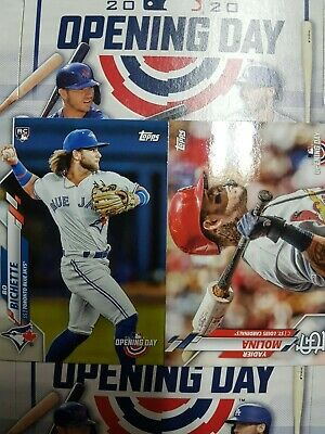 2020 Topps Opening Day (1-200) COMPLETE YOUR SET - YOU PICK FROM LIST