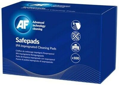 100 PCS IPA Impregnated Cleaning Pad Wipes 99.9% IPA AF Lint-free Non-Woven