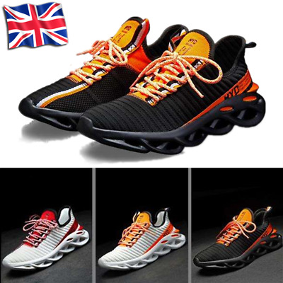 Mens Air Mesh Casual Running Trainers Athletic Walking Gym Shoes Sport Size