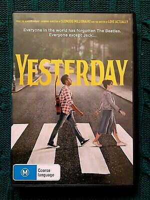 Yesterday - Dvd- R-2+4+5, Like New, Free Post Within Australia