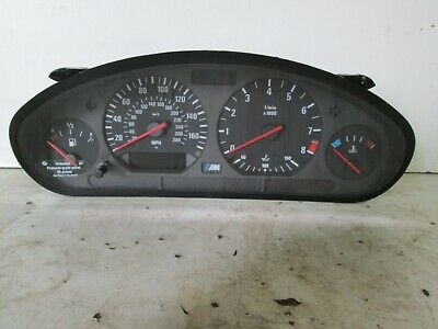 BMW E36 M3 3.2 speedo instrument cluster working manual