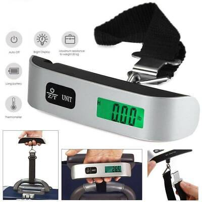 50kg/10g Portable Travel LCD Digital Hanging Luggage Scale Electronic Weight SH
