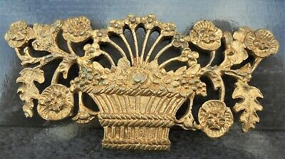 Ancien Ornementation Ornement Garniture En Bronze Style Louis Xvi Dn1864
