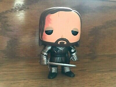 Funko Pop! Game Of Thrones The Hound Rare Vaulted #05 OOB Loose