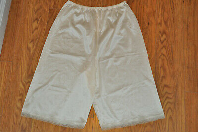 Vintage Vanity Fair PettiPants Bloomers - Champagne/Ivory  100% Nylon