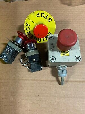 4 Emergency Stop Push Button Switch