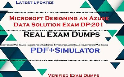 DP-201 real exam dumps questions answers & Simulator