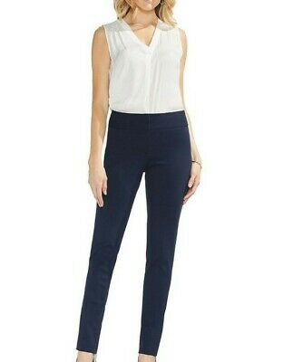 Vince Camuto Womens Navy Blue Skinny Pants Size 8 MSRP $74
