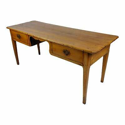 19th century French Provincial Fruitwood Writing Table or Desk