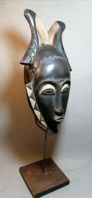 Africanm mask Tribe Wood Tribal Wall Hand Vintage Art Wooden Face Decor 1340