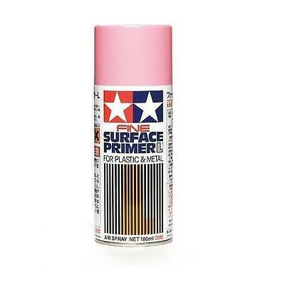 Tamiya Fine Surface Primer L Pink Fondo Spray Rosa Plastica E Metallo  Art 87146