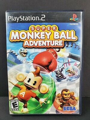 Super Monkey Ball Adventure (Sony PlayStation 2, 2006) PS2 Game TESTED