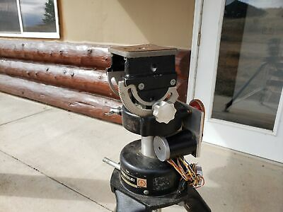 Hercules 5302 Vintage Tripod Stepper Motor Driven Tripod Head