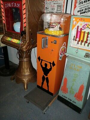 Tungo  Strength Tester.............1950's.....5 cent Play