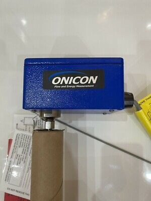 Onicon F-3500 F3500 Series Insertion Electromagnetic Flow Meter *New*Uk