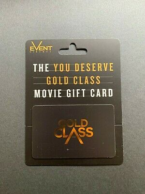 $150 Gold Class Movie Gift Card for Event Cinemas for $125. Expires 30 June 2022