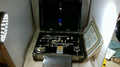 SIGNET Resonite The Selmer Company Clarinet With Hard Case - Needs Work