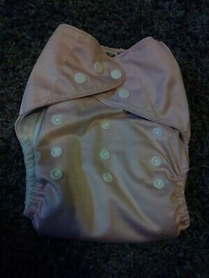 Cloth Diaper (Brand Unknown) Light Pink Pocket Diaper With 1 Insert One Size