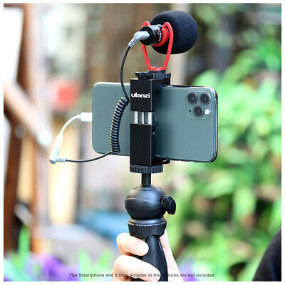 ST-02S Smartphone Video Kit Tripod Phone Mount Record Microphone for Phone Vlog