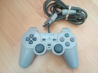 Official PlayStation Concave Analogue Controller SCPH-1180 RARE PS1 WORKING