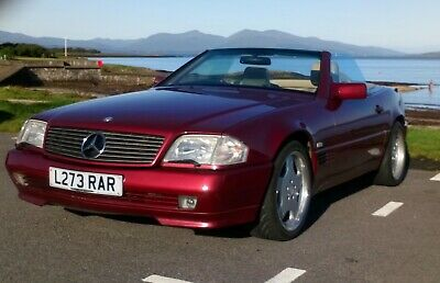 Mercedes Benz SL500, 500SL, R129, low mileage, good convertible roof, hard top,