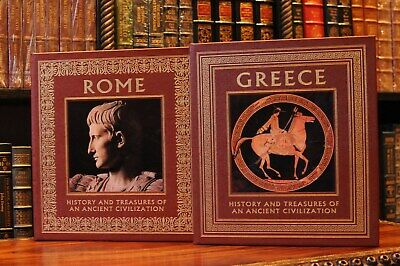 Easton Press History And Treasures Of An Ancient Civilization Rome And Greace 2