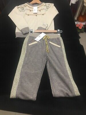 Girls Kids Pants And Top Set Sizes Available 6-7-8-10