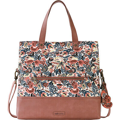 Sakroots Artist Circle Colby Convertible Tote - Clay