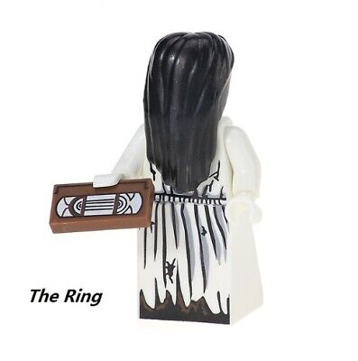 G3 - The Ring Horror Movie - Custom Minifigure Gashapon LEGO - Nuovo in Blister