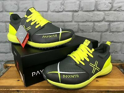 Payntr T20 Evo Pimple Mens Yellow And Black Cricket Shoe