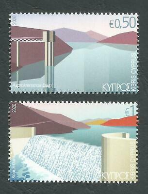 Cyprus Stamps 2020 Water reservoirs and dams MINT NH Perfect low postage.