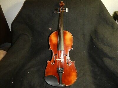 Antique 3/4 size Violin Joseph Guarnerius Fecit Cremonae ano 1736 IHS Roth case