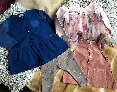 Baby Girls Zara & Ted Baker Bundle Age 9-12 Months Excellent Condition