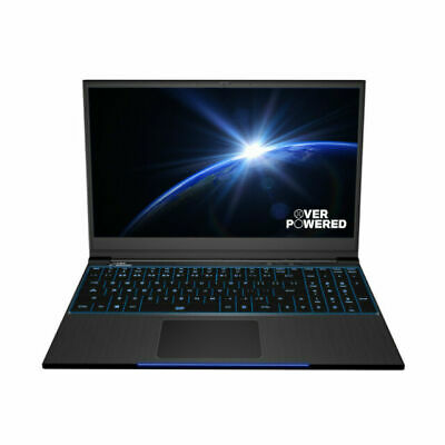 "OVERPOWERED OP-LP2 Gaming Laptop 15.6"" i7-8750H 16GB RAM GTX 1060 256GB SSD 1TB"