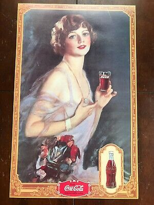 Maxi Poster 61cm x 91.5cm new and sealed Coca Cola Girl Colour Collage