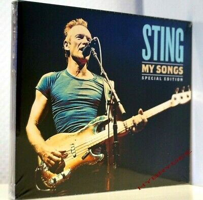 nouvel album 2 Cd STING My Songs neuf 11/2019 Special Edition limitée Police